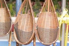 柳条或编篮艺品树木种植的 库存图片