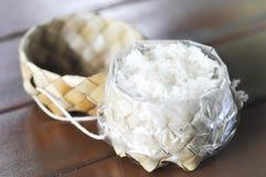 柳条用黏米饭 免版税库存照片
