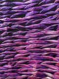 柳条竹子被编织的背景纹理 免版税库存图片