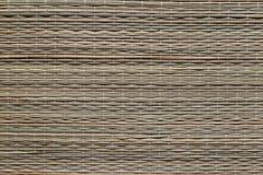柳条竹布料,纹理 图库摄影