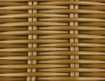 柳条筐纹理背景 棕色藤条纹理  设计的木背景 免版税库存照片