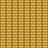 柳条筐编织的样式无缝的纹理 库存照片