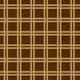柳条筐编织的样式无缝的纹理 免版税库存照片