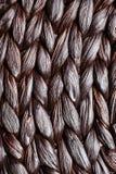 柳条被编织的样式背景 免版税库存图片