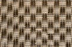 柳条被编织的篮子纹理 免版税图库摄影