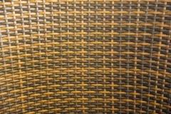 柳条被编织的藤条样式 图库摄影