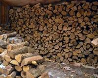 柴堆 免版税库存图片