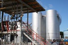 柴油工厂预留 图库摄影