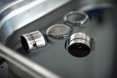 柴油引擎阀门的水力补偿器 免版税库存照片