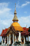 柴mongkhon pattaya寺庙泰国 库存图片