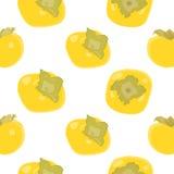 柿子传染媒介背景 免版税库存图片