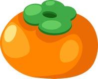 柿子向量 免版税库存图片