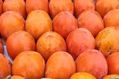 柿子果子。 库存照片