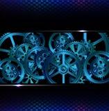栅格和齿轮 免版税图库摄影
