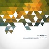 栅格马赛克背景,创造性的设计模板 免版税库存图片