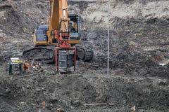 标准侵彻试验的钻设备 免版税库存图片
