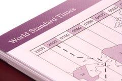 标准时间世界 免版税库存照片
