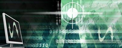标头互联网 免版税库存照片