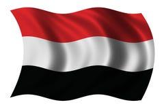 标志也门 皇族释放例证