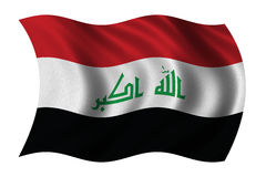 标志伊拉克新 库存照片