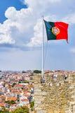 标志国民葡萄牙 免版税图库摄影