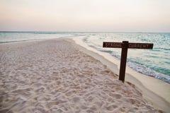 标志在海的stong潮流 库存照片