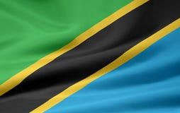 标志坦桑尼亚 库存例证