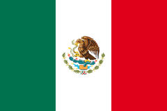 标志墨西哥国民 免版税库存照片