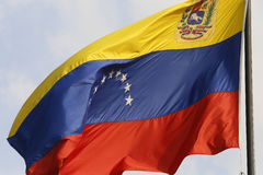 标志委内瑞拉 免版税图库摄影