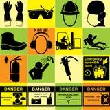 标志工业传染媒介 图库摄影