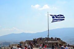 标志希腊 免版税图库摄影