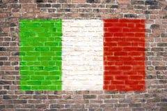 标志意大利语 库存照片