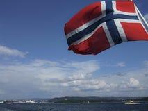 标志挪威 免版税库存图片