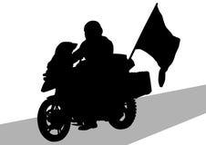 标志摩托车 库存图片