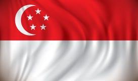 标志新加坡 库存图片