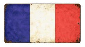 标志法国 免版税库存照片