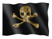 标志海盗 库存照片