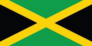 标志牙买加 库存照片
