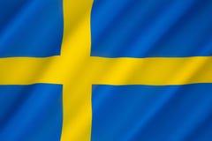 标志瑞典 库存照片