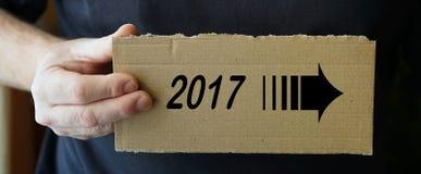 标志由纸板制成 免版税库存照片