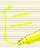 标志笔框架 免版税库存图片