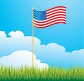 标志美国围场 库存例证