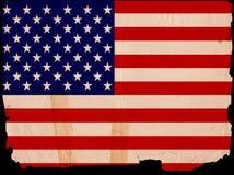标志老美国葡萄酒 免版税库存照片
