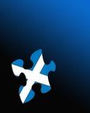 标志苏格兰人 库存例证