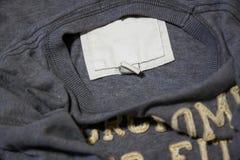 标志衬衣灰色 免版税库存照片