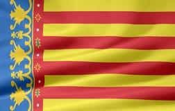 标志西班牙巴伦西亚 库存例证