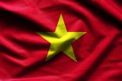 标志越南挥动 库存照片