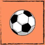 标志足球 图库摄影
