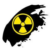 标志辐射 免版税图库摄影