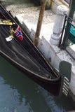 标志长平底船挪威 库存图片
